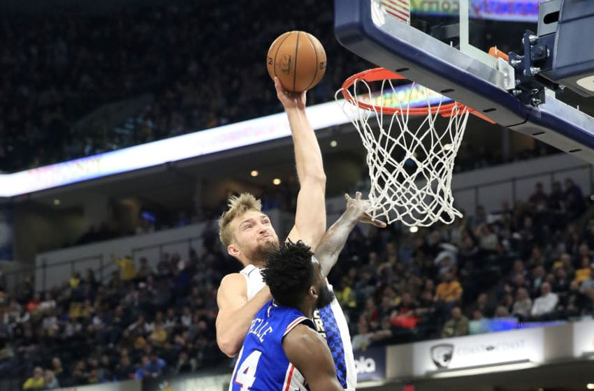 Indiana Pacers Domantas Sabonis (Photo by Andy Lyons/Getty Images)