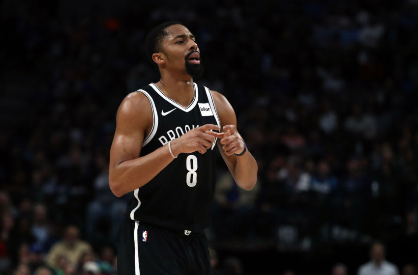 Brooklyn Nets Spencer Dinwiddie (Photo by Ronald Martinez/Getty Images)