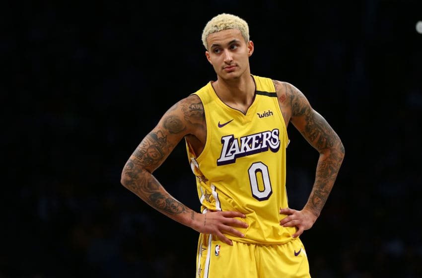 Los Angeles Lakers, Kyle Kuzma (Photo by Mike Stobe/Getty Images)