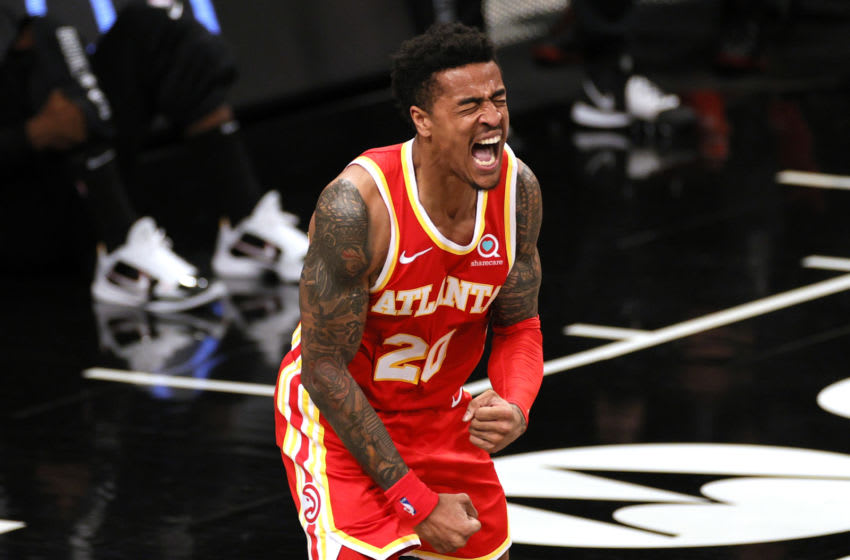 John Collins #20 of the Atlanta Hawks (Photo by Sarah Stier/Getty Images)