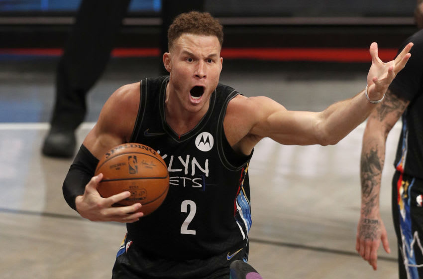 Blake Griffin, Brooklyn Nets. Photo by Jim McIsaac/Getty Images