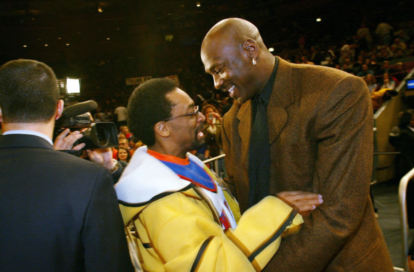 Spike Lee, Michael Jordan (Photo by Ray Amati/Getty Images)