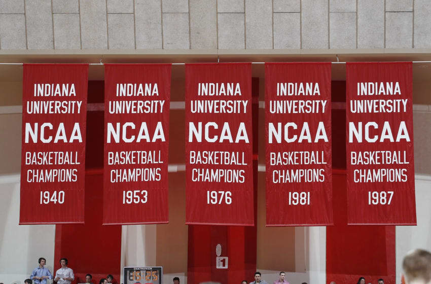 Indiana basketball. (Photo by Joe Robbins/Getty Images)