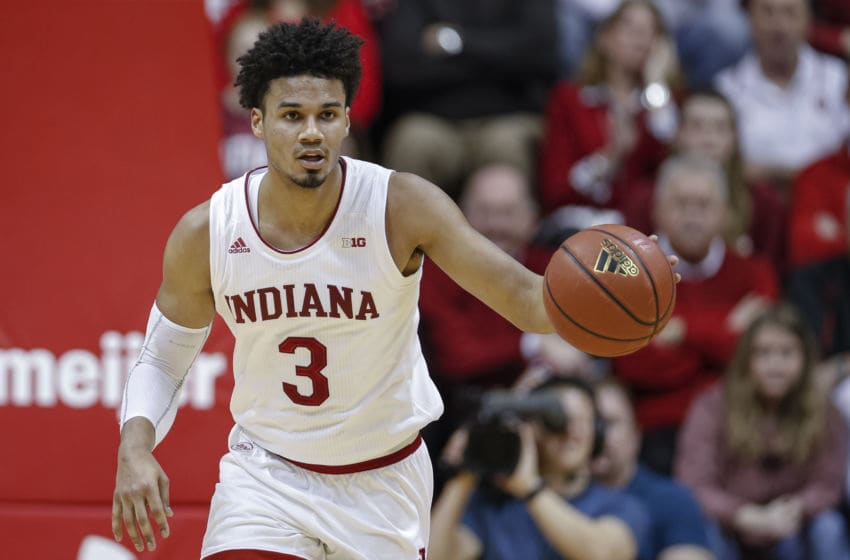 Justin Smith, Indiana Basketball (Photo by Michael Hickey/Getty Images)