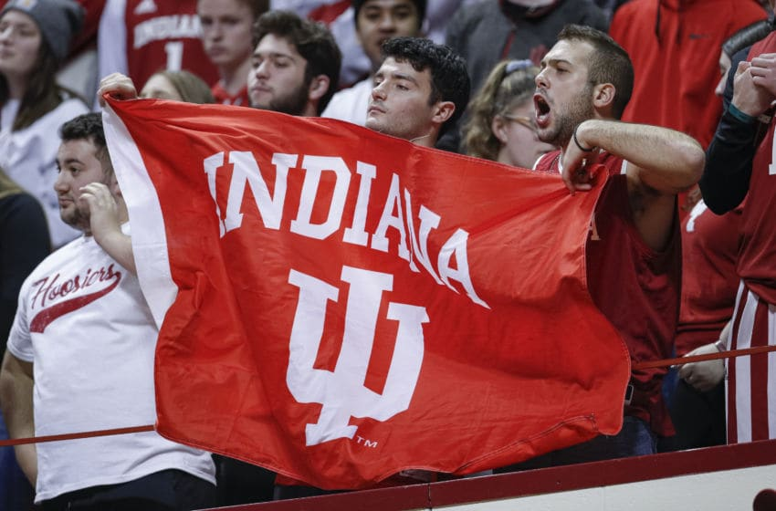 Indiana Hoosiers, Indiana Fans (Photo by Michael Hickey/Getty Images)