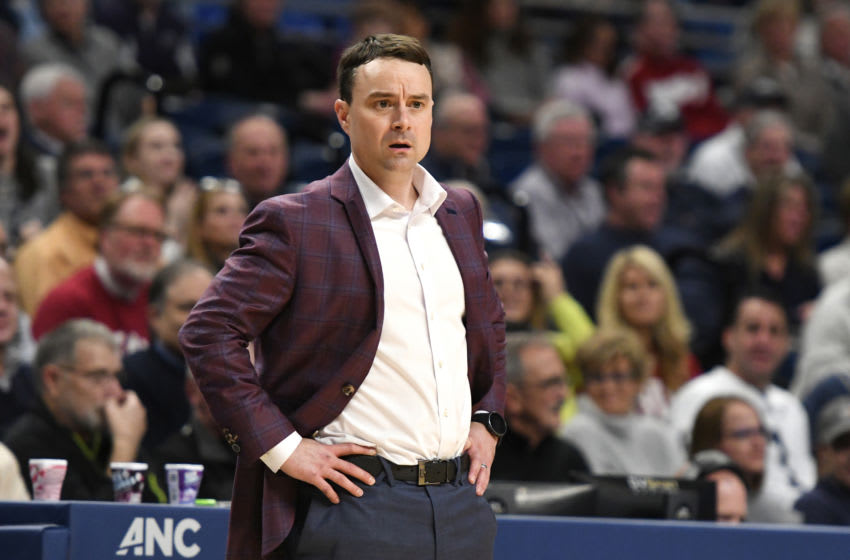 Archie Miller, Indiana Basketball. (Photo by Mitchell Layton/Getty Images)