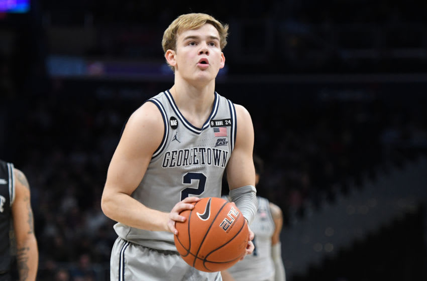 Georgetown Basketball, Mac McClung (Photo by Mitchell Layton/Getty Images)