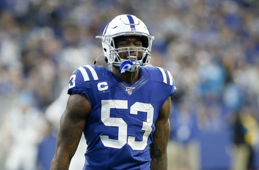 Darius Leonard is a superstar in the making for the Indianapolis Colts.(Photo by Justin Casterline/Getty Images)