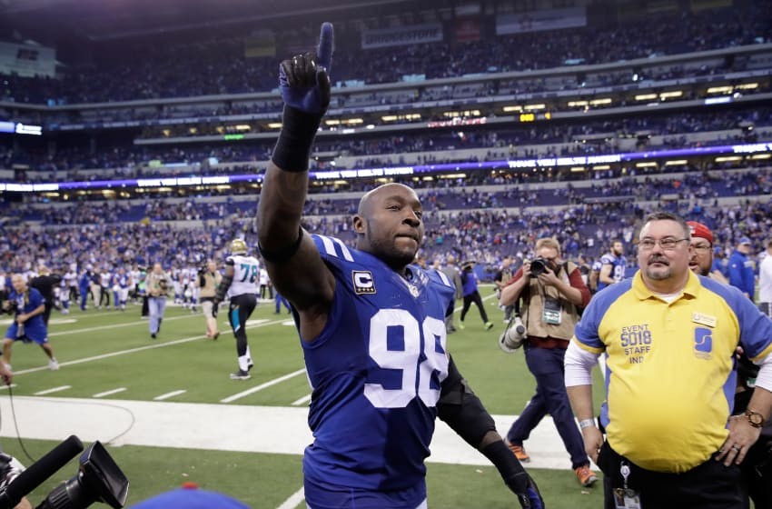 INDIANAPOLIS, IN - JANUARY 01: Robert Mathis