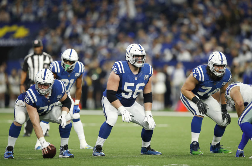 Colts Offensive Line (Photo by Joe Robbins/Getty Images)
