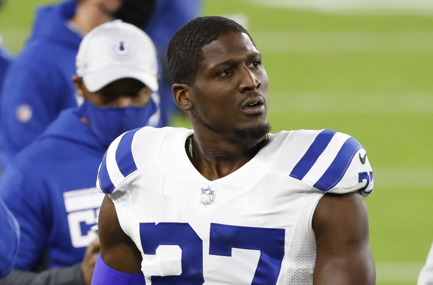 Colts CB Xavier Rhodes (Photo by Frederick Breedon/Getty Images)