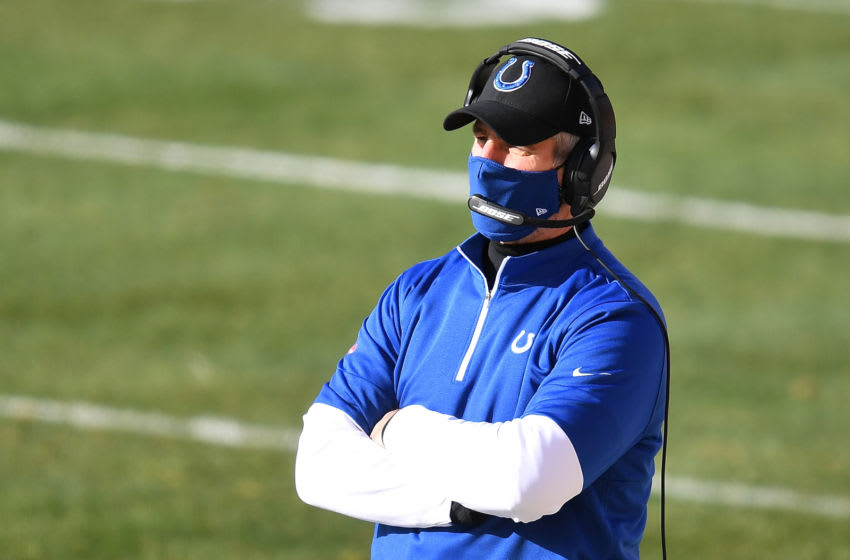 PITTSBURGH, PA - DECEMBER 27: Head coach Frank Reich of the Indianapolis Colts (Photo by Joe Sargent/Getty Images)