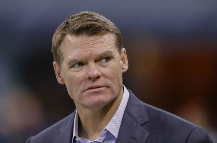 INDIANAPOLIS, IN - OCTOBER 21: Indianapolis Colts general manager Chris Ballard (Photo by Michael Hickey/Getty Images)