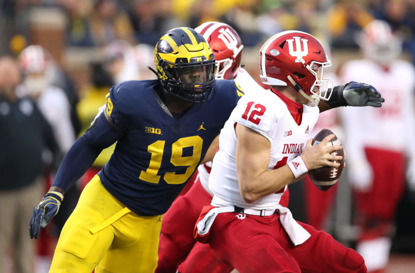 Michigan DE Kwity Paye (Photo by Gregory Shamus/Getty Images)