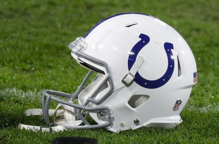 Colts helmet (Photo by Frederick Breedon/Getty Images)