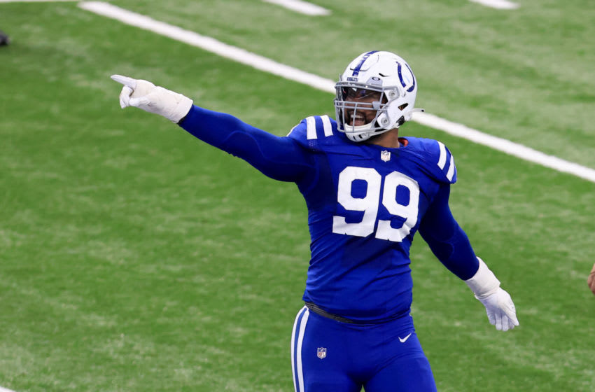 INDIANAPOLIS, INDIANA - DECEMBER 20: DeForest Buckner #99 of the Indianapolis Colts (Photo by Justin Casterline/Getty Images)