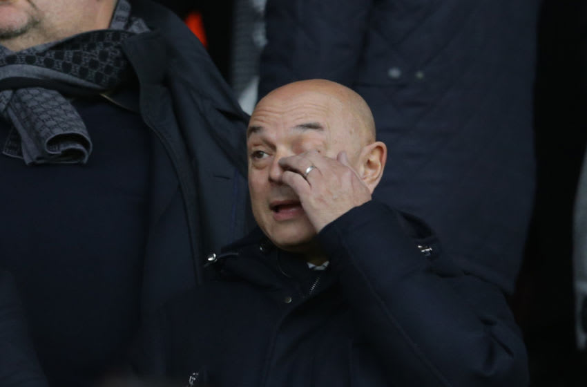SOUTHAMPTON, ENGLAND - JANUARY 25: Tottenham Hotspur Chairman Daniel Levy during the FA Cup Fourth Round match between Southampton and Tottenham Hotspur at St. Mary's Stadium on January 25, 2020 in Southampton, England. (Photo by Robin Jones/Getty Images)