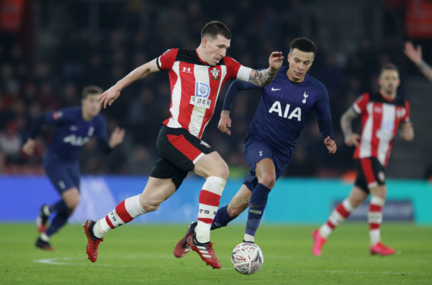 Tottenham Hotspur, Pierre-Emile Hojbjerg (Photo by Robin Jones/Getty Images)