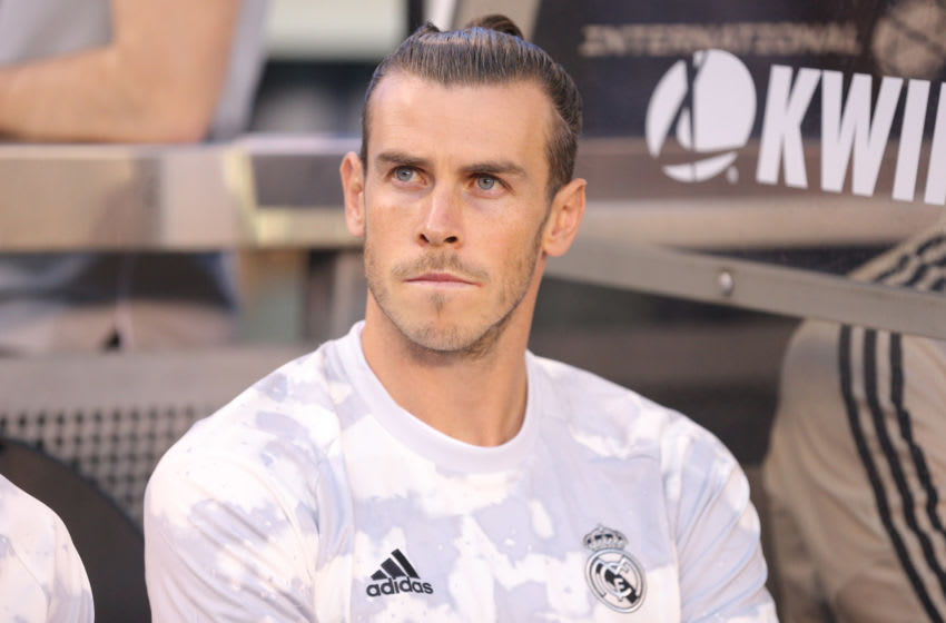 Jul 26, 2019; East Rutherford, NJ, USA; forward Gareth Bale (11) Mandatory Credit: Brad Penner-USA TODAY Sports