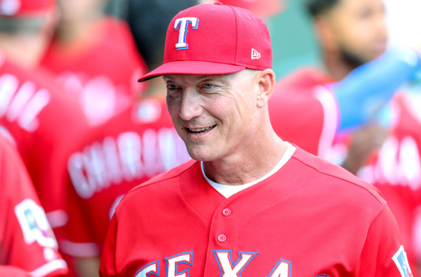 Jeff Banister, a managerial candidate for the Houston Astros (Photo by Steve Nurenberg/Icon Sportswire via Getty Images)