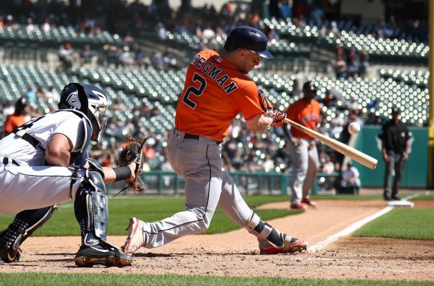 DETROIT, MI - SEPTEMBER 12: Alex Bregman #2 of the Houston Astros (Photo by Gregory Shamus/Getty Images)