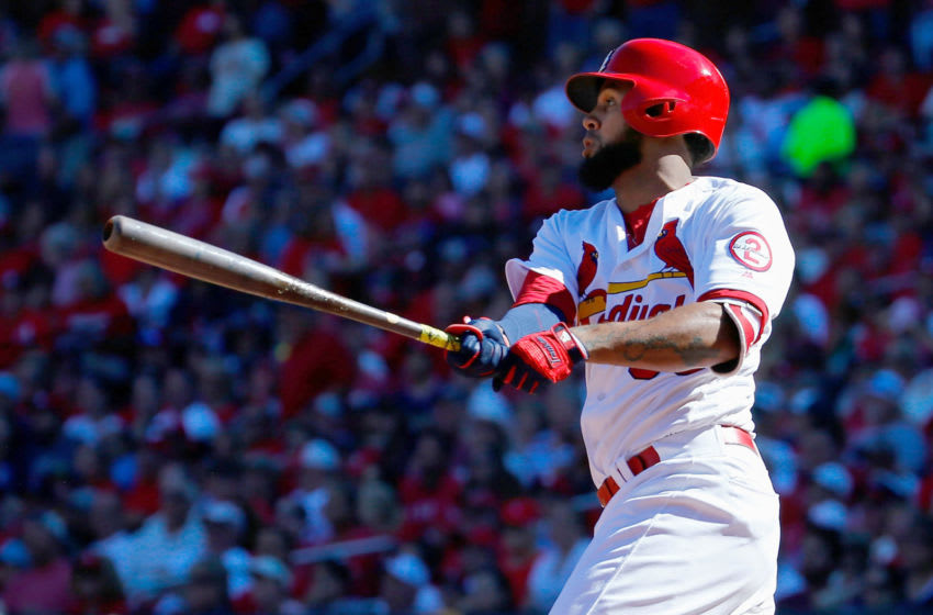 Houston Astros trade target Jose Martinez, currently of the St. Louis Cardinals (Photo by Dilip Vishwanat/Getty Images)