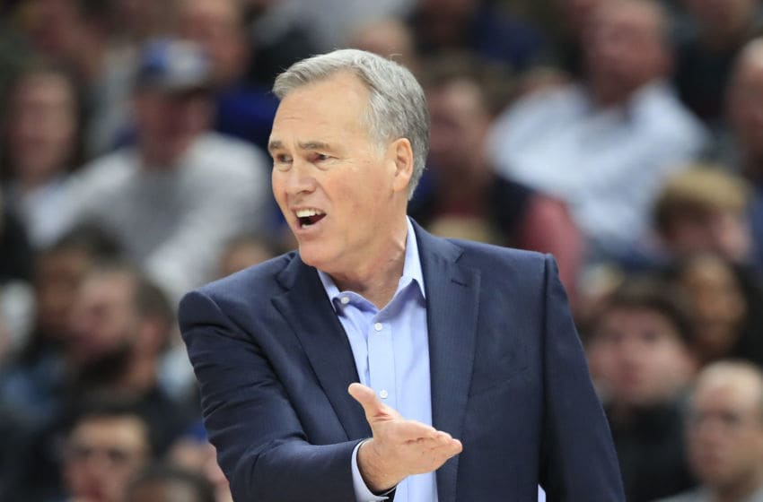 INDIANAPOLIS, IN - NOVEMBER 05: Mike D'Antoni, HC of the Houston Rockets (Photo by Andy Lyons/Getty Images)