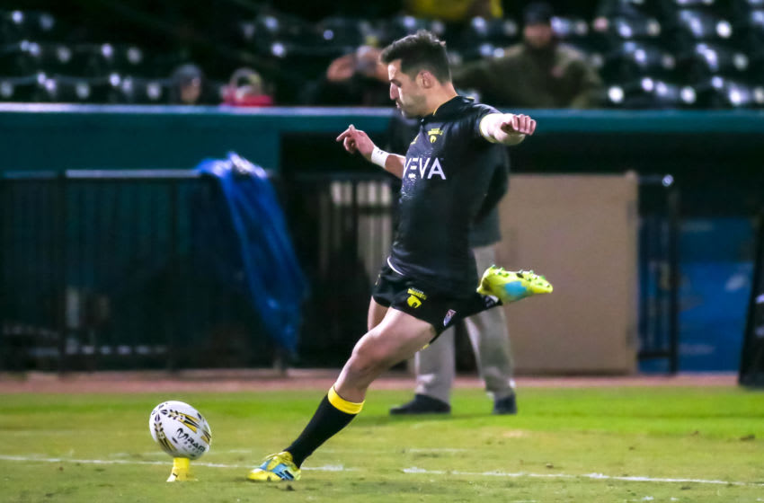 Houston SaberCats flyhalf Sam Windsor (Photo by Leslie Plaza Johnson/Icon Sportswire via Getty Images)