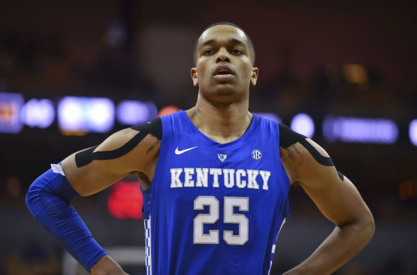 Kentucky forward P.J. Washington, the Houston Cougars biggest threat (Photo by Ed Zurga/Getty Images)