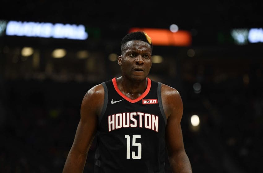 Houston Rockets center Clint Capela (Photo by Stacy Revere/Getty Images)