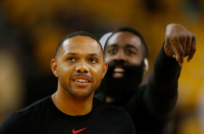 Houston Rockets guard Eric Gordon (Photo by Lachlan Cunningham/Getty Images)