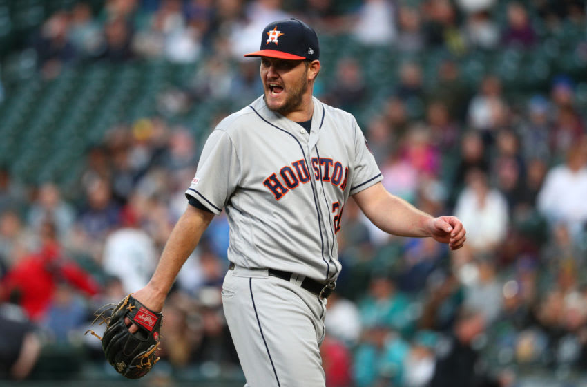 Cincinnati Reds pitcher Wade Miley, formerly of the Houston Astros (Photo by Abbie Parr/Getty Images)
