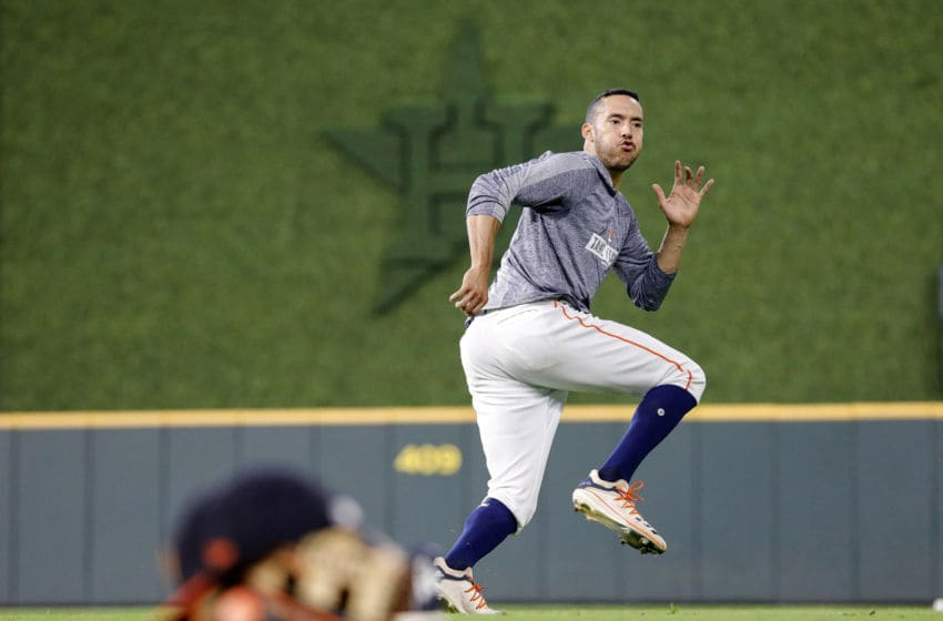 Houston Astros shortstop Carlos Correa (Photo by Tim Warner/Getty Images)