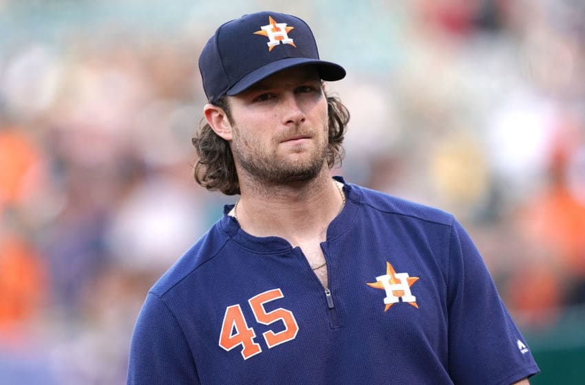 Houston Astros pitcher Gerrit Cole (Photo by Thearon W. Henderson/Getty Images)