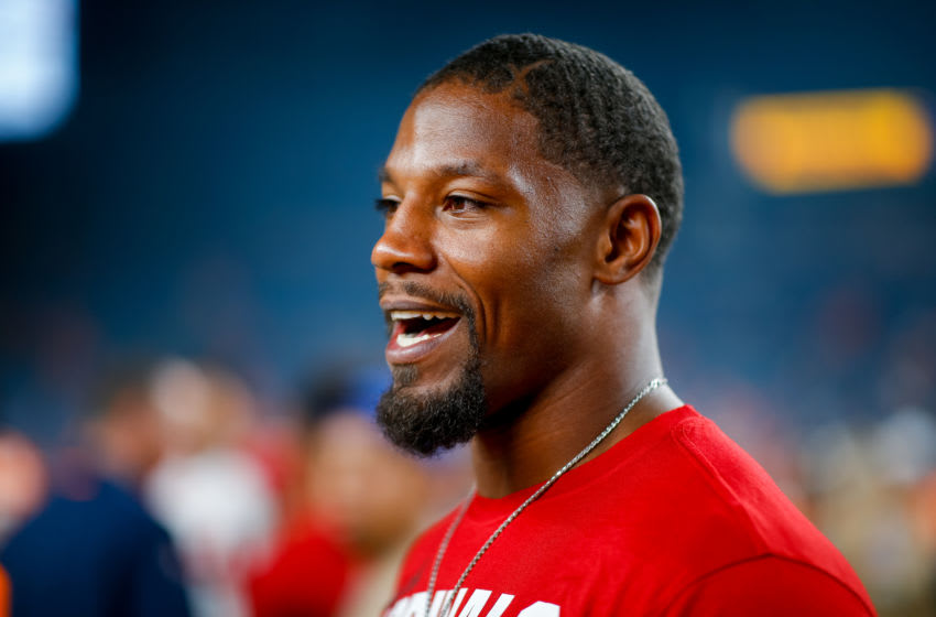 Houston Texans running back David Johnson (Photo by Justin Edmonds/Getty Images)