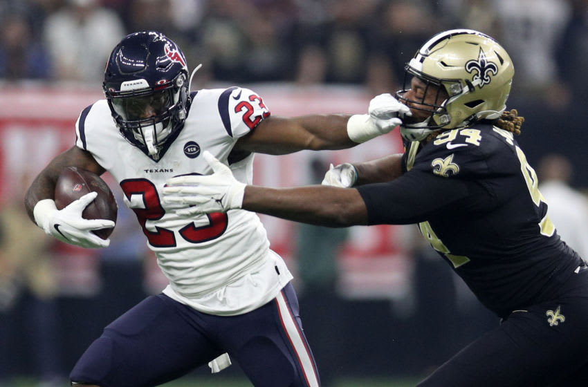 Houston Texans running back Carlos Hyde (Photo by Chris Graythen/Getty Images)