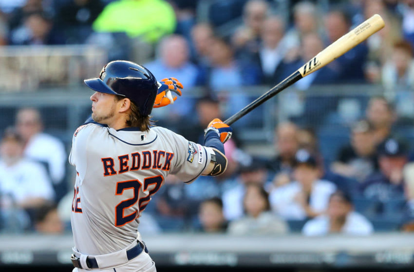 Houston Astros outfielder Josh Reddick (Photo by Mike Stobe/Getty Images)