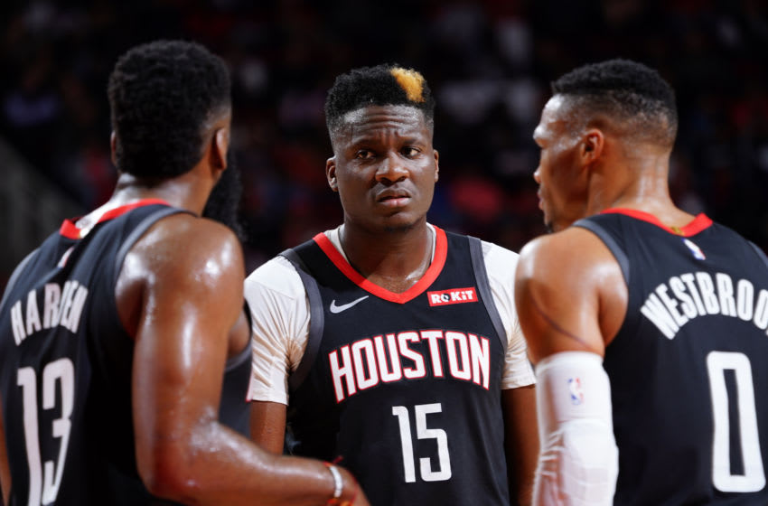 Houston Rockets center Clint Capela (Photo by Cato Cataldo/NBAE via Getty Images)