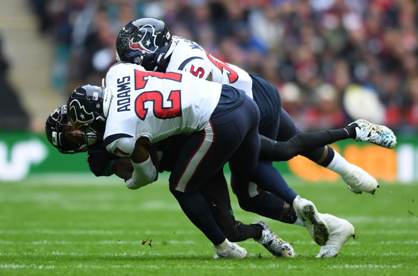 Houston Texans safety Mike Adams (Photo by Alex Davidson/Getty Images)