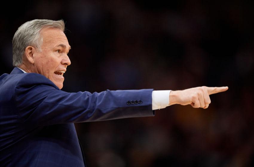 Houston Rockets head coach Mike D'Antoni (Photo by Hannah Foslien/Getty Images)