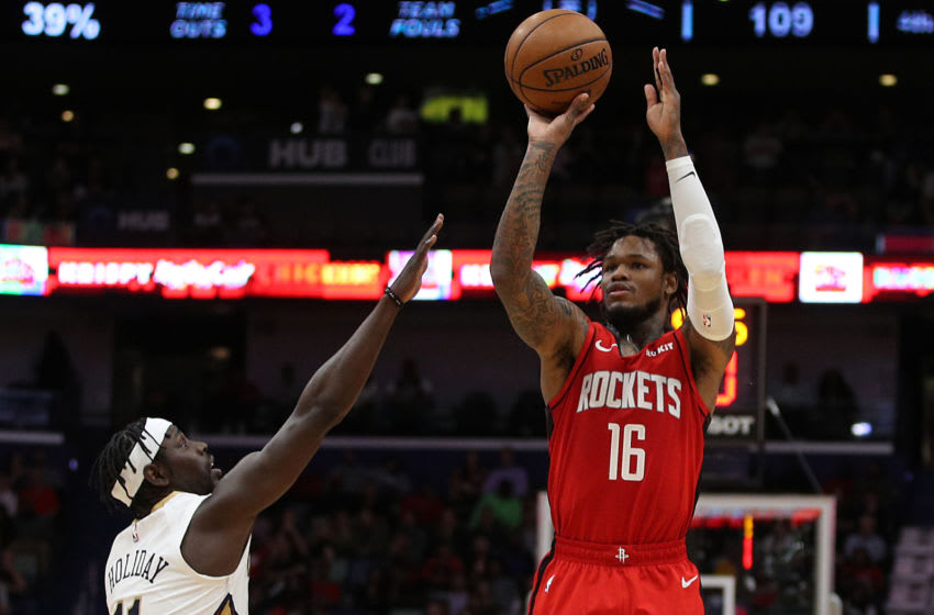 Houston Rockets guard Ben McLemore (Photo by Chris Graythen/Getty Images)