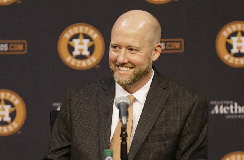 Houston Astros GM James Click (Photo by Bob Levey/Getty Images)