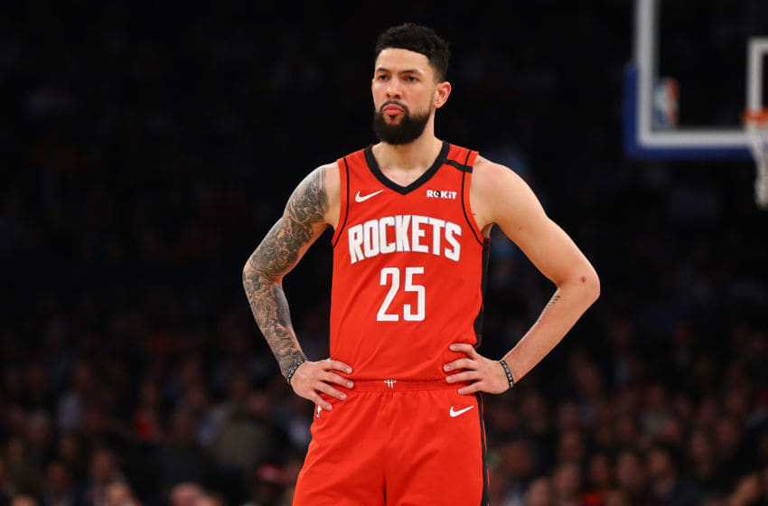 Houston Rockets guard Austin Rivers (Photo by Mike Stobe/Getty Images)