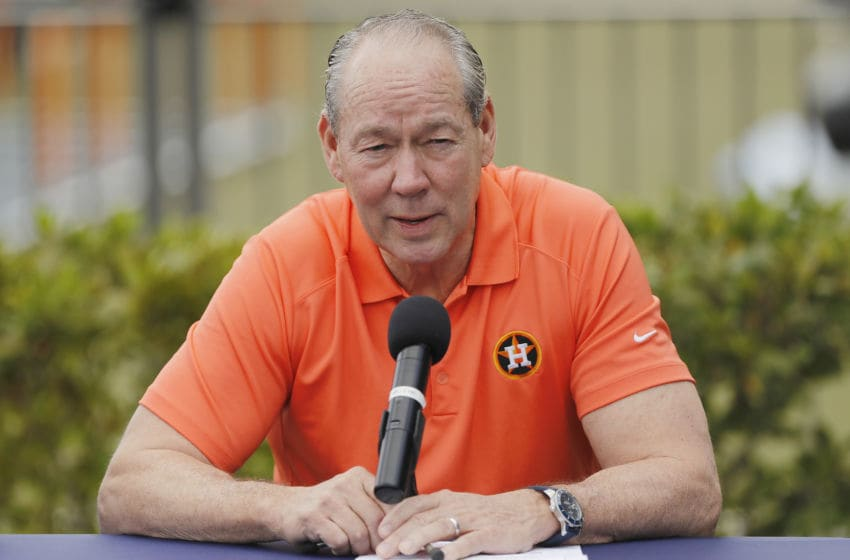 Houston Astros' owner Jim Crane (Photo by Michael Reaves/Getty Images)