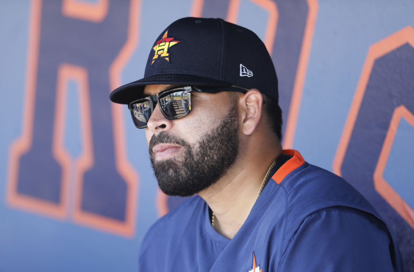 Houston Astros pitcher Jose Urquidy (Photo by Michael Reaves/Getty Images)