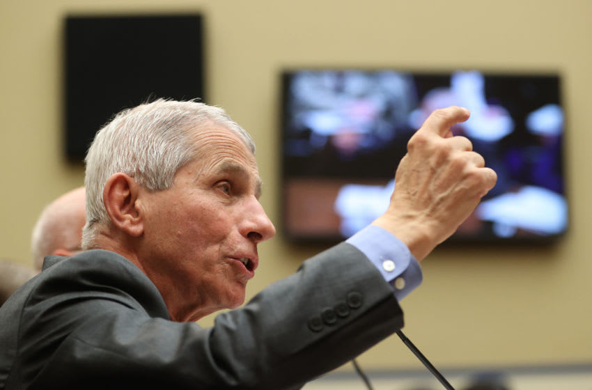 NIH Director Anthony Fauci | Houston Texans (Photo by Win McNamee/Getty Images)