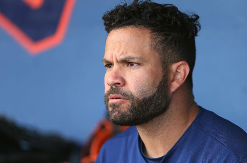 Houston Astros second baseman Jose Altuve (Photo by Rich Schultz/Getty Images)