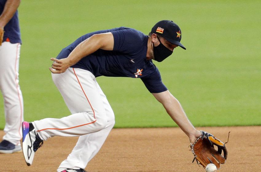 Houston Astros third baseman Alex Bregman (Photo by Bob Levey/Getty Images)