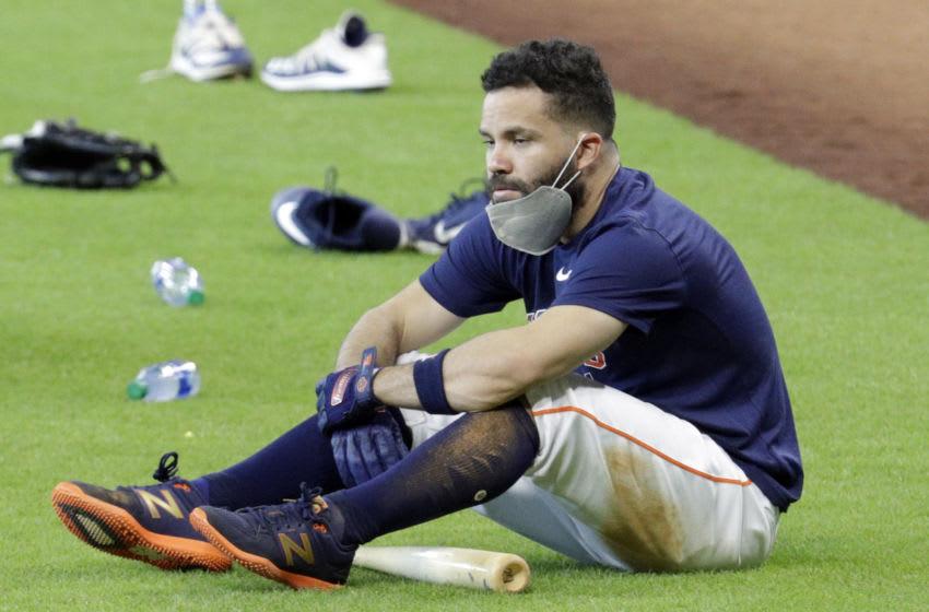 Houston Astros second baseman Jose Altuve (Photo by Bob Levey/Getty Images)