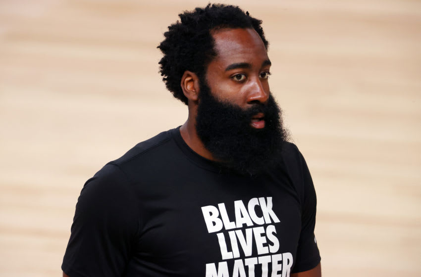 Houston Rockets guard James Harden (Photo by Kevin C. Cox/Getty Images)